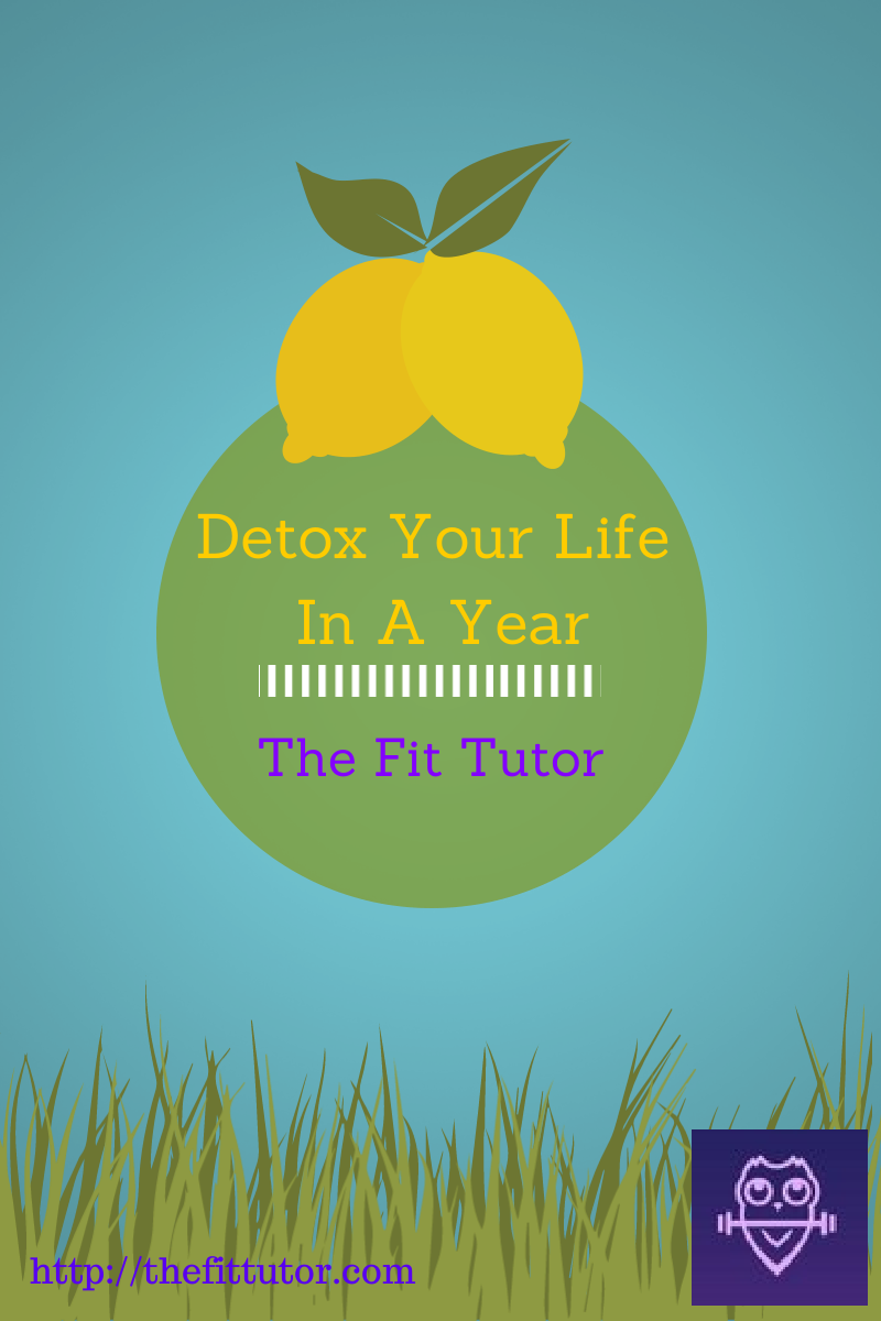 Check out thefittutor.com's Detox Your Life in a Year posts! Get healthy with practical tips, strategies, and information- one month at a time :)