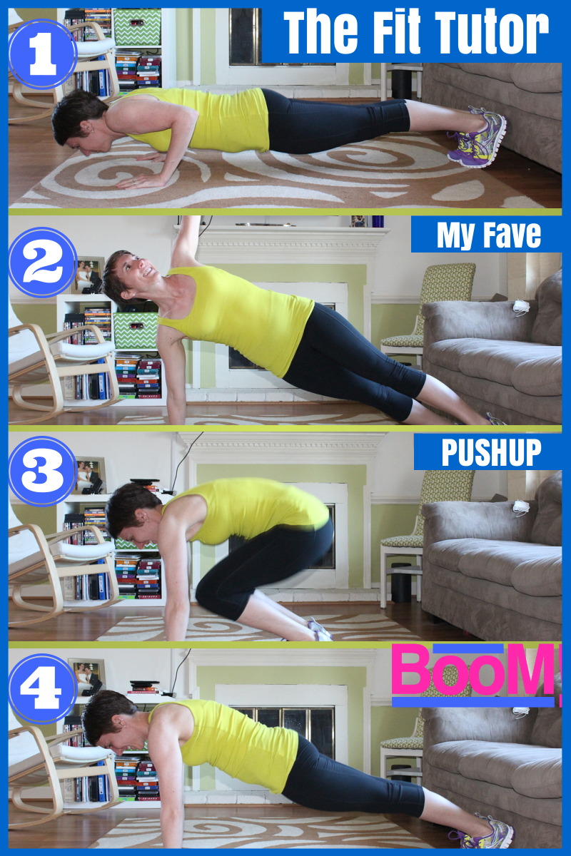 how to do a pushup