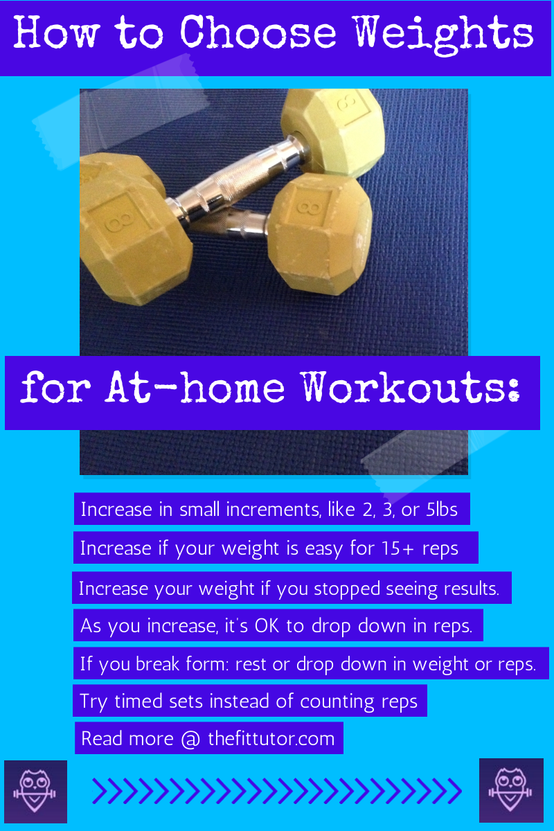 choose weights