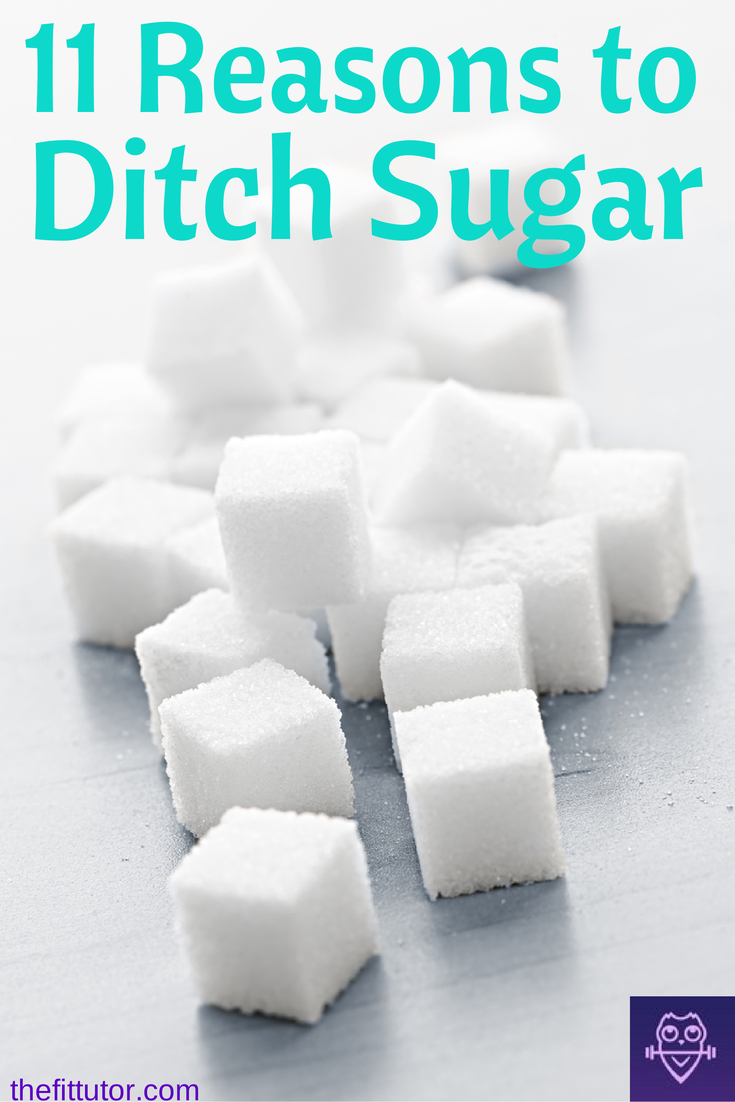 Ditch Sugar. Read this post to find out why YOU need to kick your #sugar habit ASAP! #detox your life in a year: July via @thefittutor