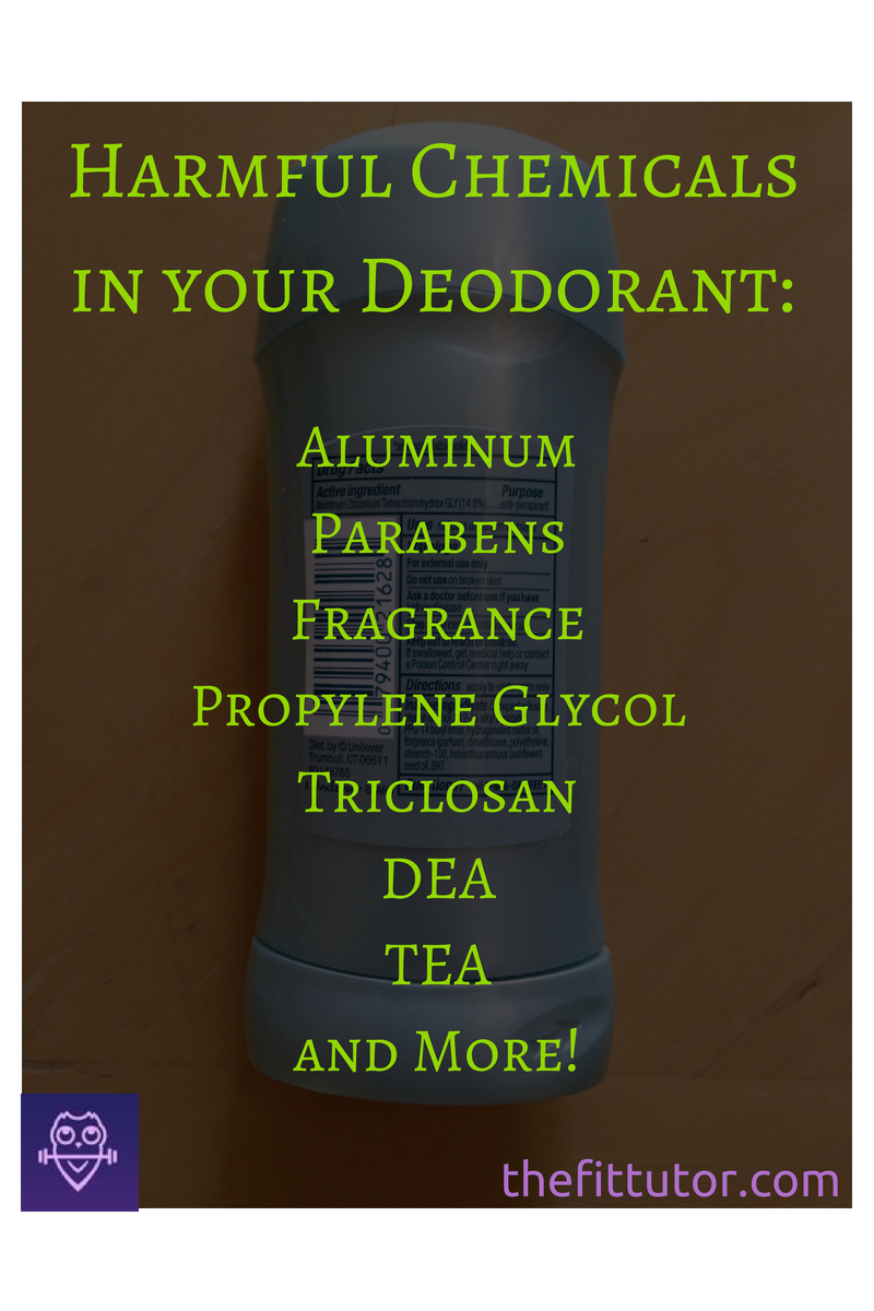 Read this before buying #deodorant! Stay away from #harmful #chemicals and make your own or try these brands! :)