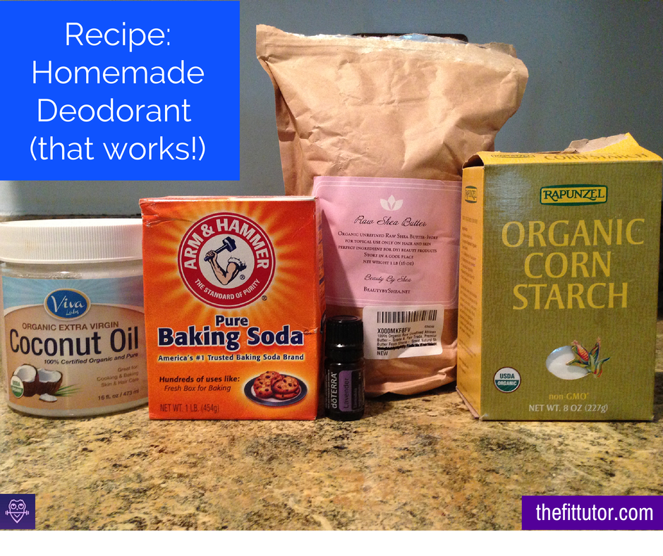 Making your own #deodorant is easier and more cost effective than you think! Try this #recipe!