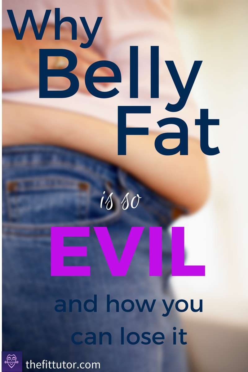why belly fat is so dangerous