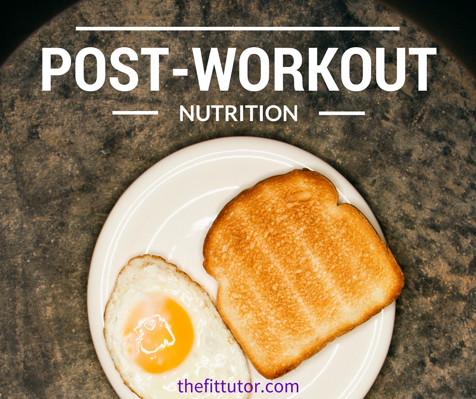 Post-workout nutrition