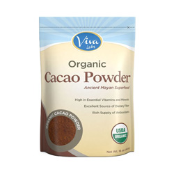 Organic, unprocessed cacao contains a chocolatey flavor as well as minerals, fiber, and nutrients! A great. healthy alternative to cocoa and great for baking.