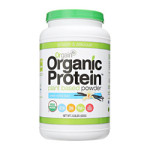 my go-to protein powder! Yummy vanilla is great for baking, too! Vegan & Organic + 21g protein!