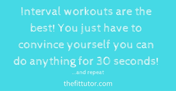 a personal trainer's top advice for losing weight without the hype. weight loss and intervals