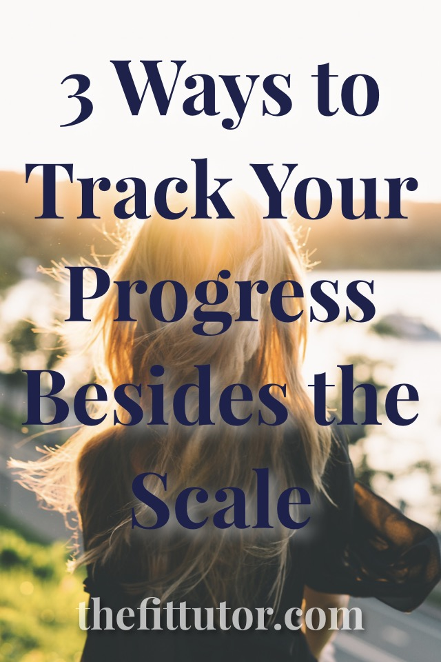 Use these 3 low-maintenance, quick ways to check your progress while you wait on your scale to catch up! ;)