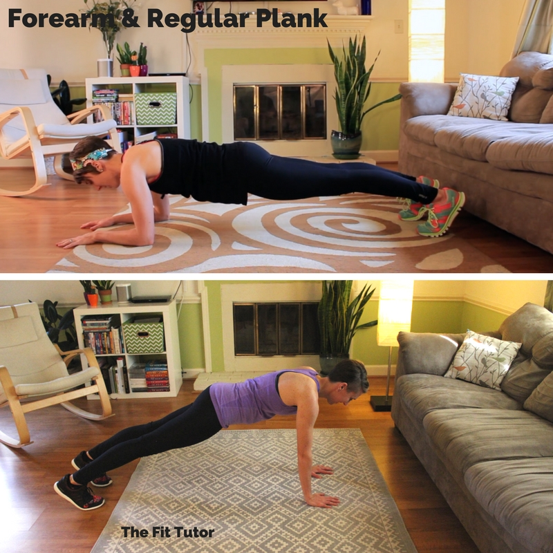 great exercises for runners: the plank // Strength Exercises for runners