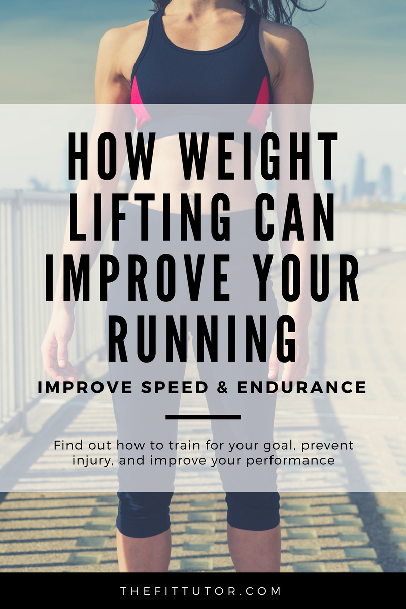 How weight lifting can improve your running // weight lifting for runners