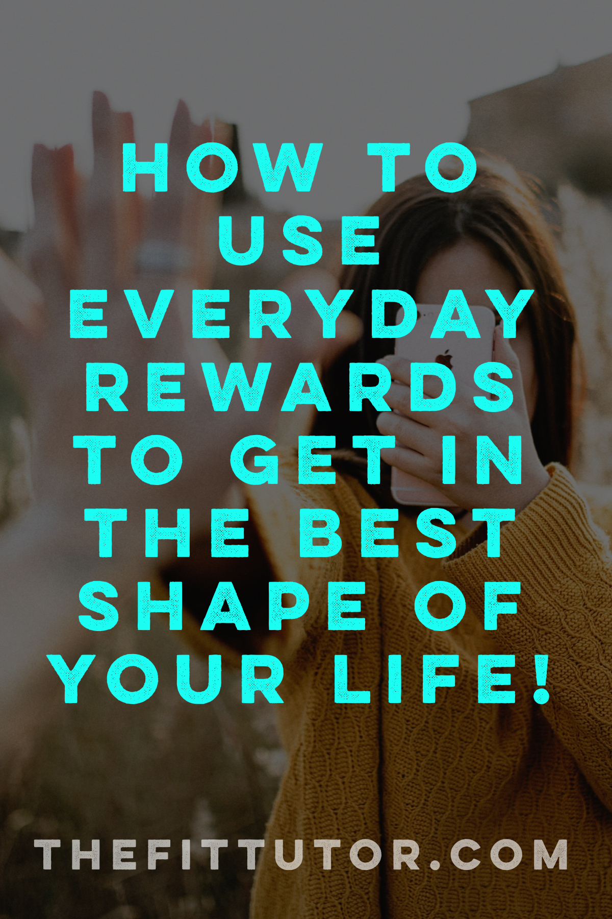 What if you harnessed your social media addiction, love for games or online debates, or heck- even your netflix habit for GOOD? :) Learn how to use rewards to get in great shape!