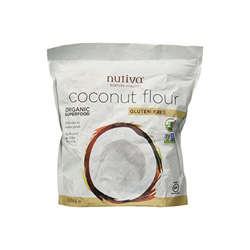 This coconut flour is a great low carb way to bake! A good addition to a healthy pantry!