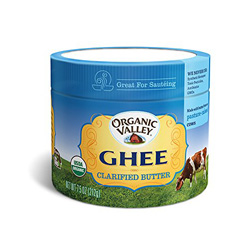 Ghee is a good butter alternative, especially for people with casein or lactose sensitivities!