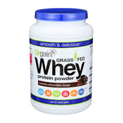 orgain whey is a great, tasty option!
