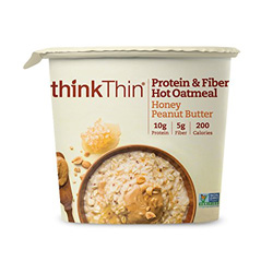 think thin protein oatmeal is a good choice for healthy oatmeal that won't make you gain weight!