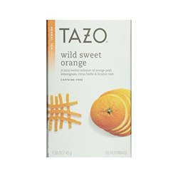 this tea is sweet and I recommend it to fight cravings!