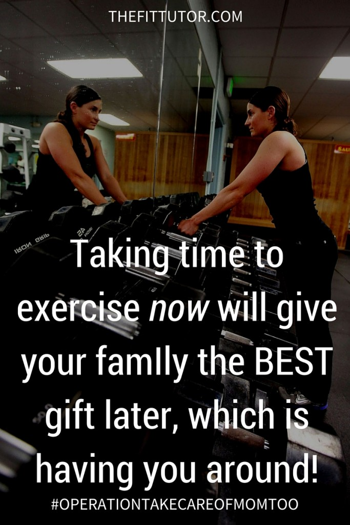 Make exercise a priority // online workouts // nutrition // thefittutor.com