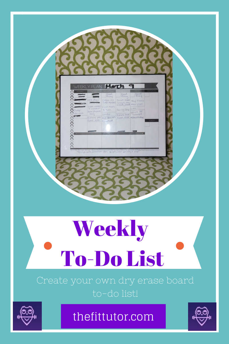 Weekly To-Do List (2)