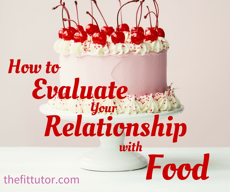 How to evaluate your relationship with food // the fit tutor
