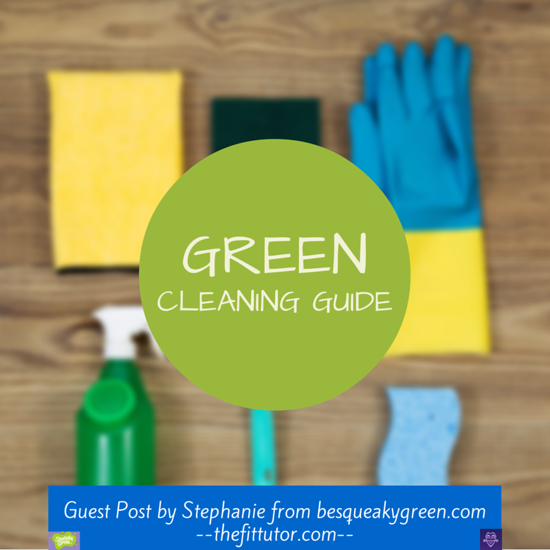 Check out this #green #cleaning #guide and reduce your #chemical exposure today!