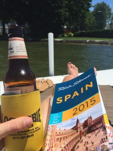 beer and trip planning // avoid weight gain on vacation
