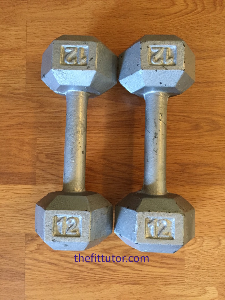 How to Restore Old Rusty Weights - a step by step tutorial #DIY