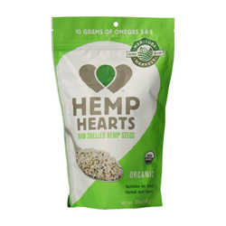Hemp Hearts are a nutty, nutritious, low-carb & high protein food- they are great for smoothies, granola, adding to yogurt, etc! Also a good source of Omega-3's!