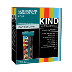 There are very, very few granola bars that I would recommend and say they help with your weight loss or maintenance goals. Kind nut bars are one of the only ones, and they are low in carbs and high in nutrients. The sea salt and dark chocolate is my favorite!