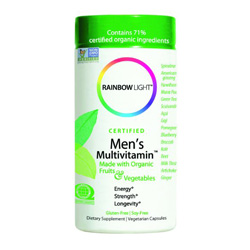 rainbow light men's organic multi check out my fave healthy living products