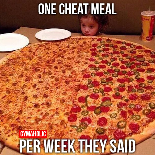 One cheat meals