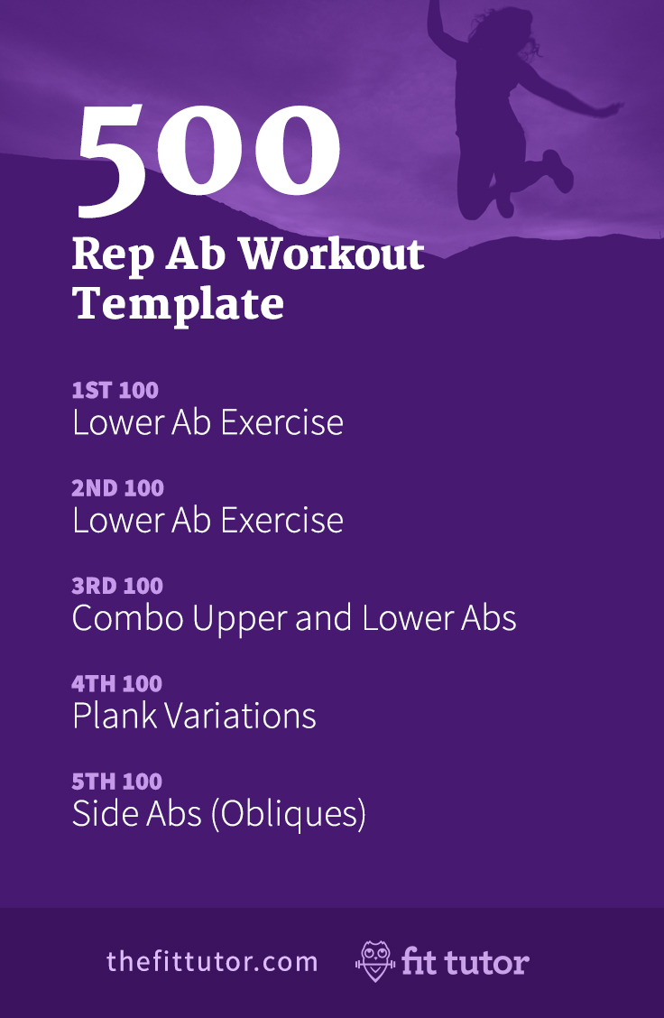 500 Rep Ab Workout