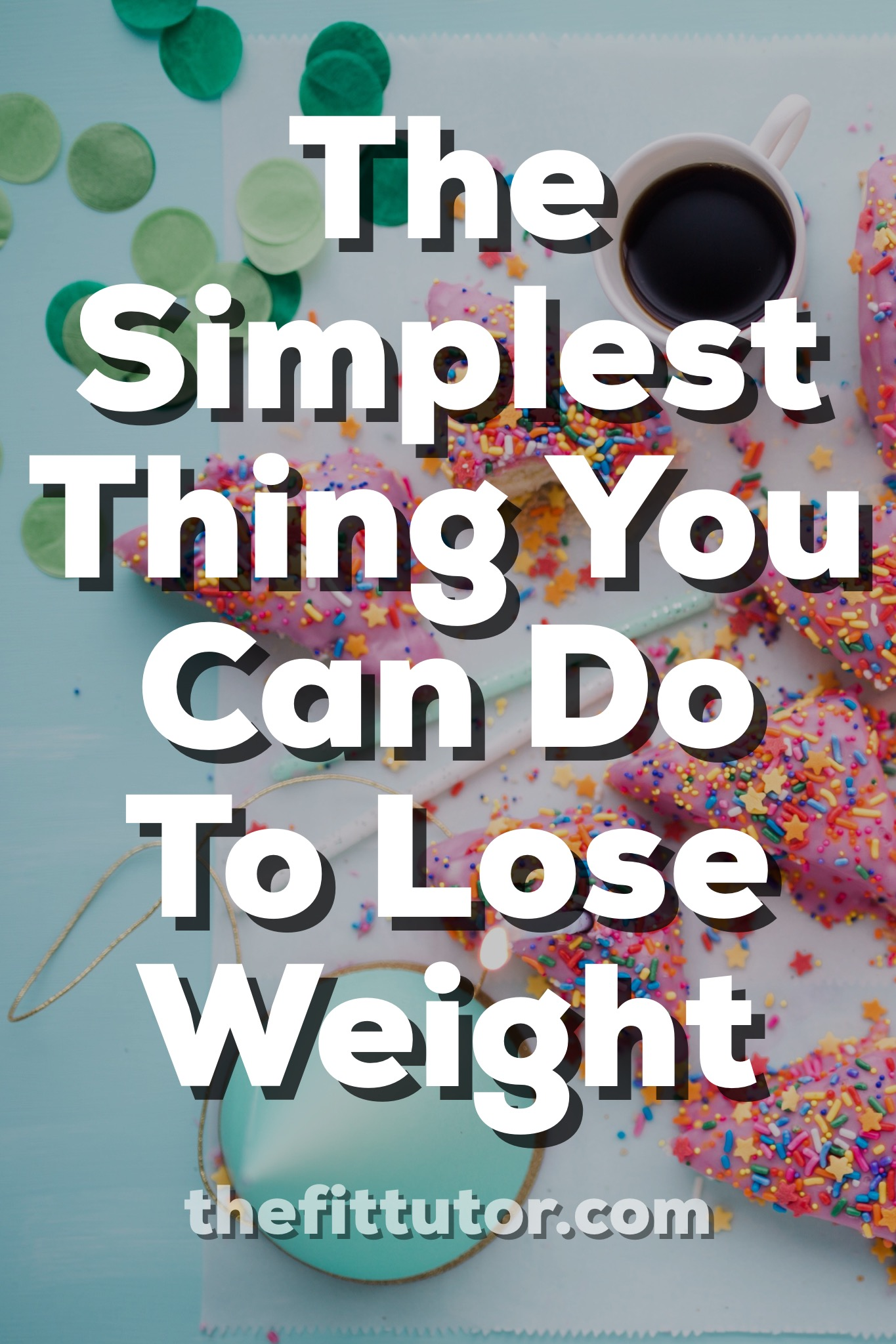 This 2 minute life hack will help you survive a party without overeating, and without regret! Try it today! The simplest thing you can do to lose weight // Find your why