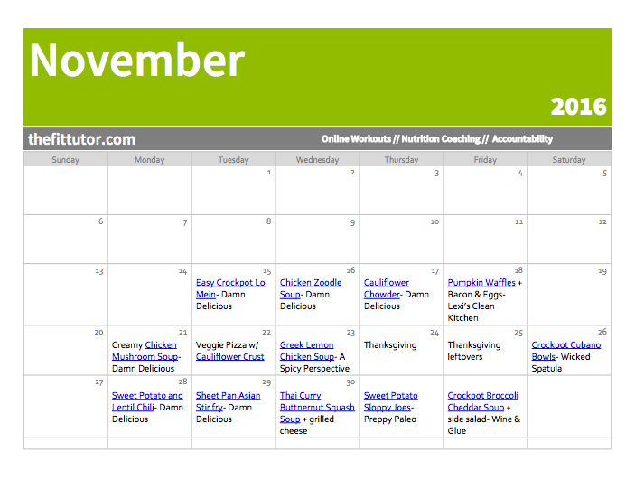healthy meal plans for 1.5 months- easy stress, eat healthily!
