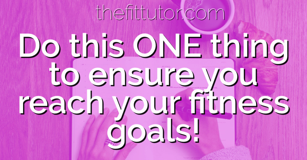 Doing this one thing can ensure you don't fizzle out on your health and fitness goals this year! Goals contract is a game changer!