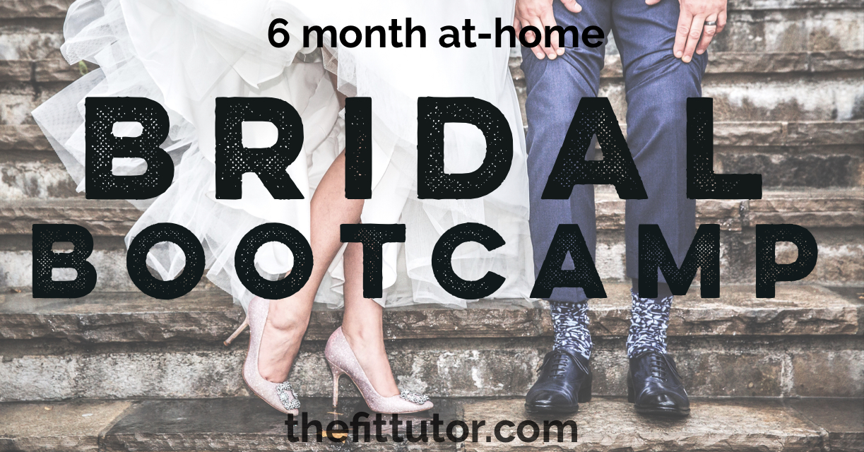 this bridal bootcamp will help you lose weight an get fit and healthy for your wedding- affordable, effective, for brides!
