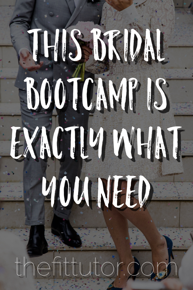 Online Bridal Bootcamp: get results at your schedule, have a trainer to ask questions to, get support & accountability, and it's so freaking affordable!!!