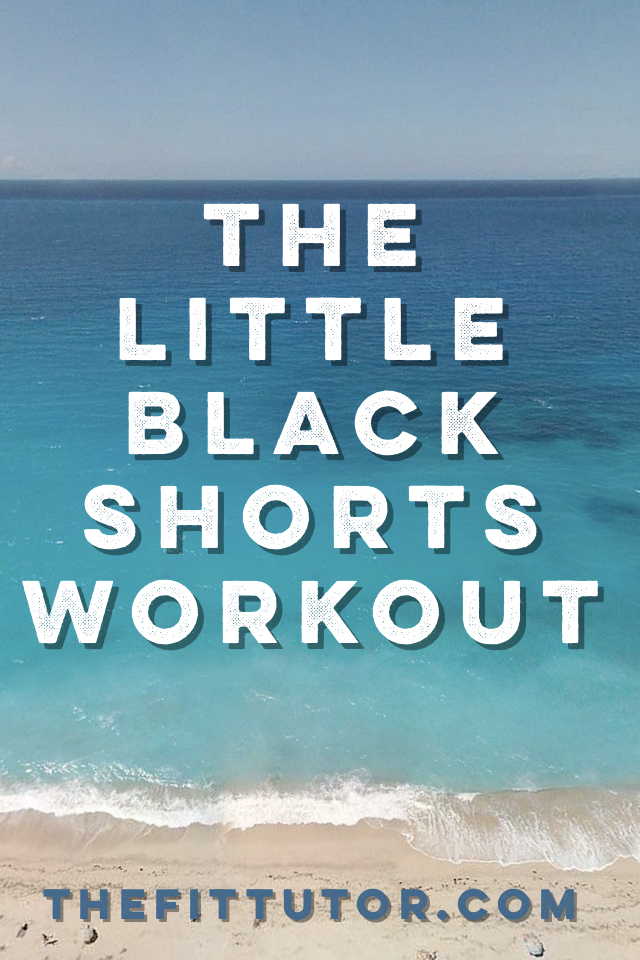 this free online workout will help keep you accountable and get results ;) #littleblackshortsworkout