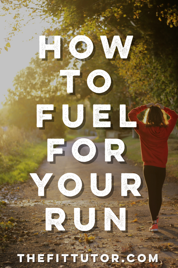 read this post to help you learn how to properly fuel your runs! #fuelingrun #foodisfuel