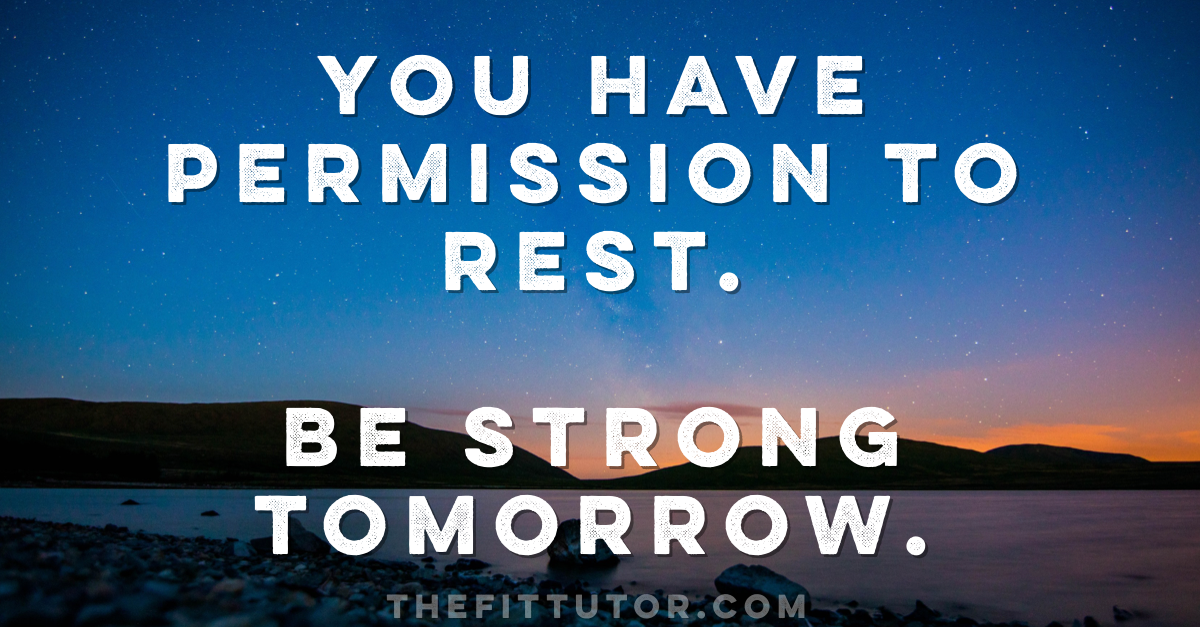 read how rest days can change your life!