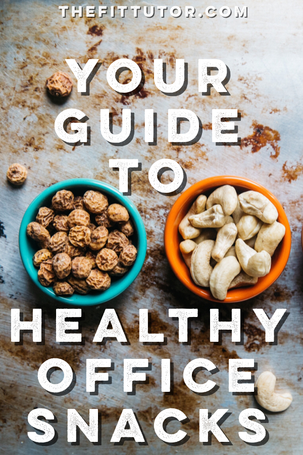 Use this guide to healthy office snacks to improve your break room, waist line, and worker productivity!