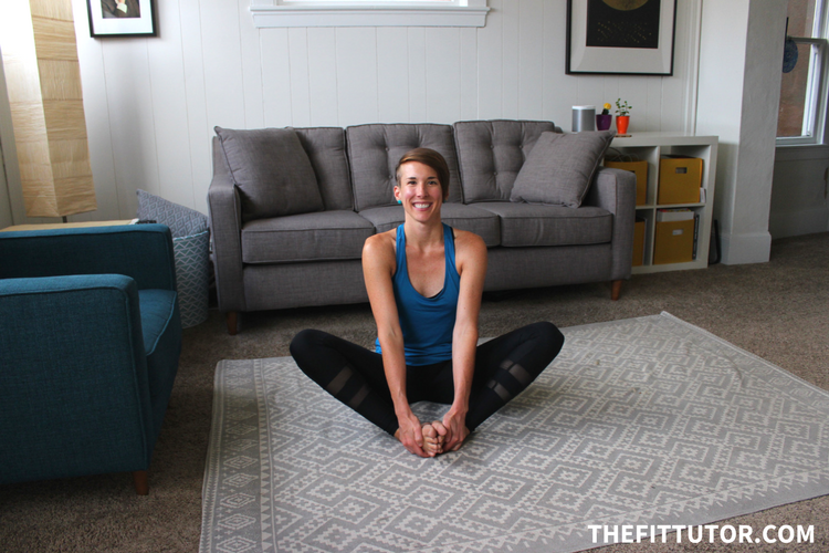 Ahhh this butterfly stretch is so perfect for tight hips! Find out how to do it + other hip flexor stretches in this article!