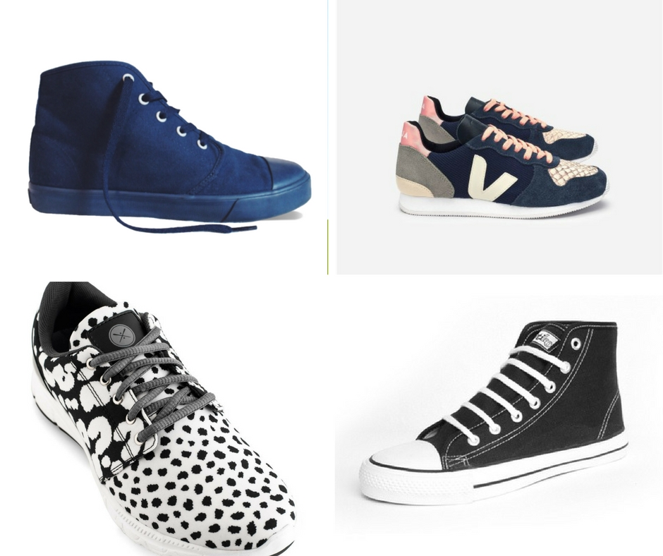 fair sneaker round up- the perfect gift for any girl this holiday season! ethical gift guide