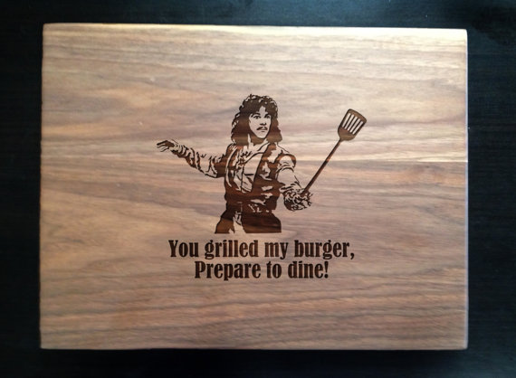 a personalized or funny cutting board makes a great gift for your fit or foodie friend who spends a lot of time in the kitchen! ethical gift guide
