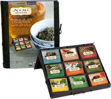 this numi tea gift set is a great ethically made christmas gift! pair with a saturday mug ;) ethical gift guide