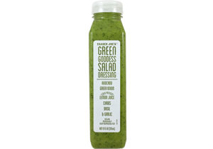 5 things I'm loving rn: trader joe's green goddess dressing. why didn't i try this sooner?!