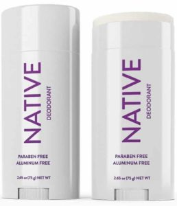 Native is the best natural & non-toxic deodorant I've tried!