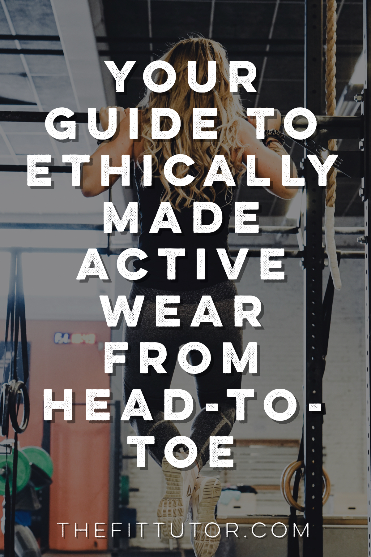 ethically made athletic wear and gifts from head to toe