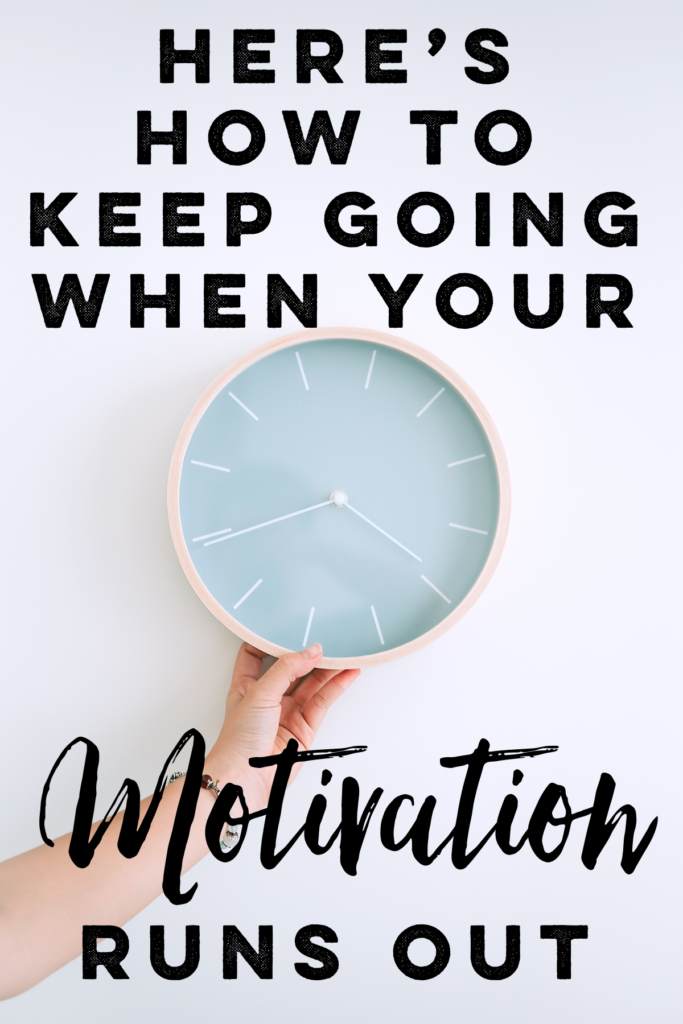 This habit chart method will help you stay the course when your motivation is low. Don't worry, if a chart won't get you moving, pairing it with accountability & rewards/consequences just might! ;)