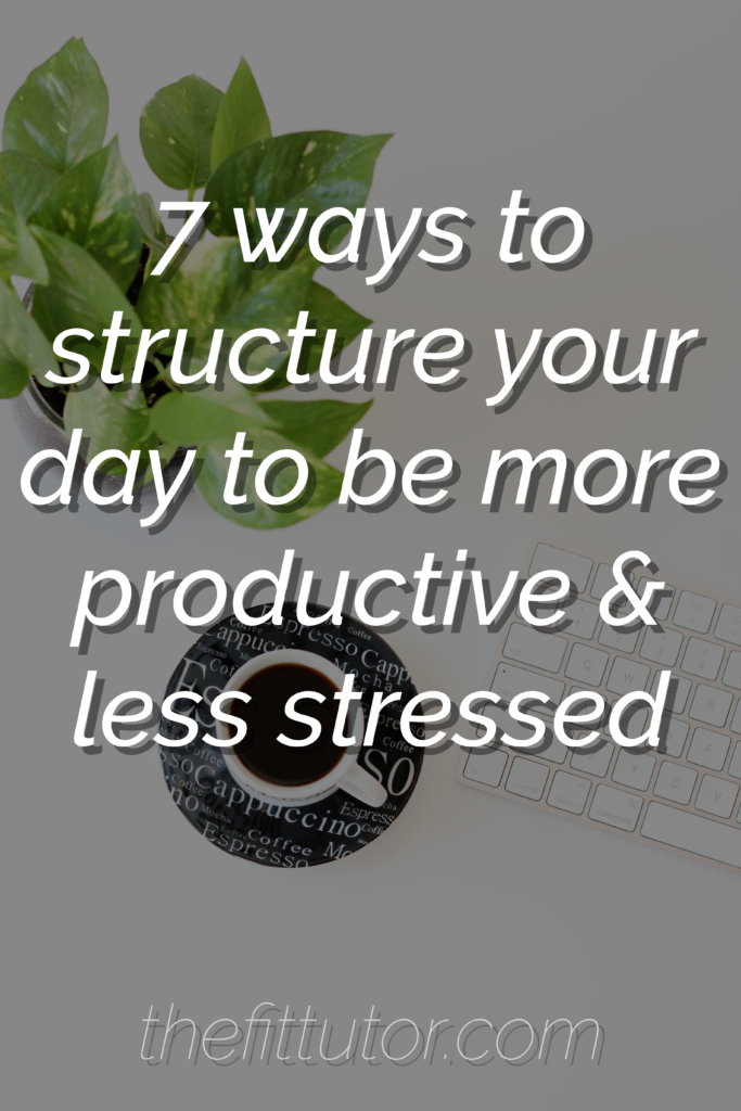these 7 tips will help you get your life back and stop spinning your wheels and overworking!