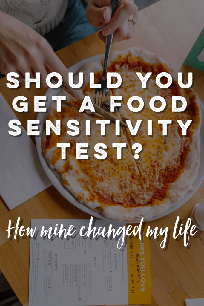 how my food sensitivity test helped me end my chronic pain